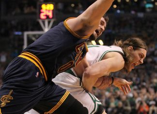kevin love shoulder injury for cavaliers 2015