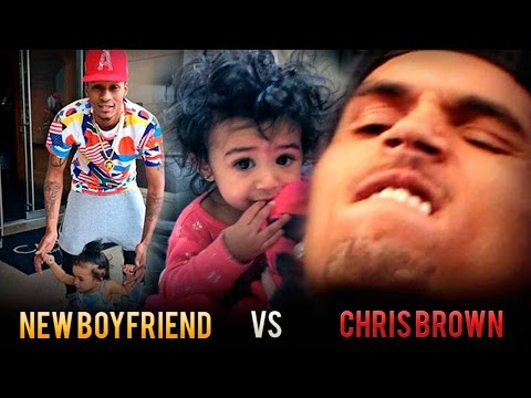 king ba ticking off chris brown with baby play 2015 gossip