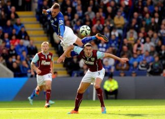 leicester city beats burnley premier league 2015