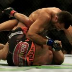 luke rockhold gets lyoto machida submissive bottom for ufc fight night dismantle 2015
