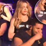 madonna kisses drake at coachella 2015