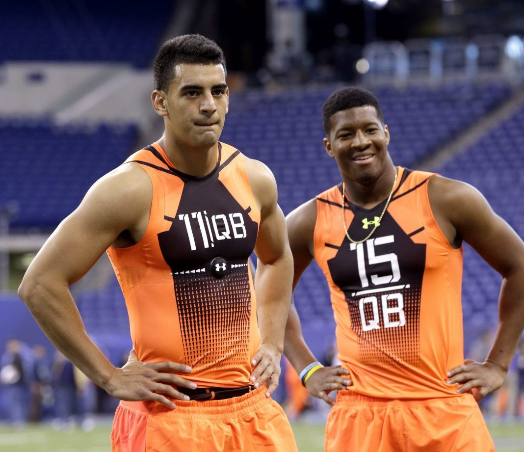 marcus mariota skipping 2015 nfl draft with jameis winston impact