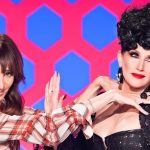 merle ginsburg with michelle visage rupauls drag race 2015