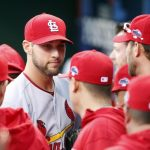 michael wacha pitches for cardinals mlb baseball 2015