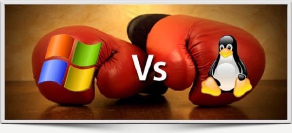 microsoft versus linux 2015