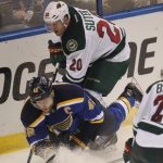 minnesota wild vs blues stanley cup playoffs 2015