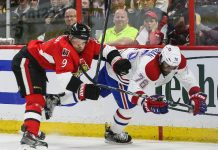 montreal canadians leading senators in stanley cup playoffs 2015 nhl