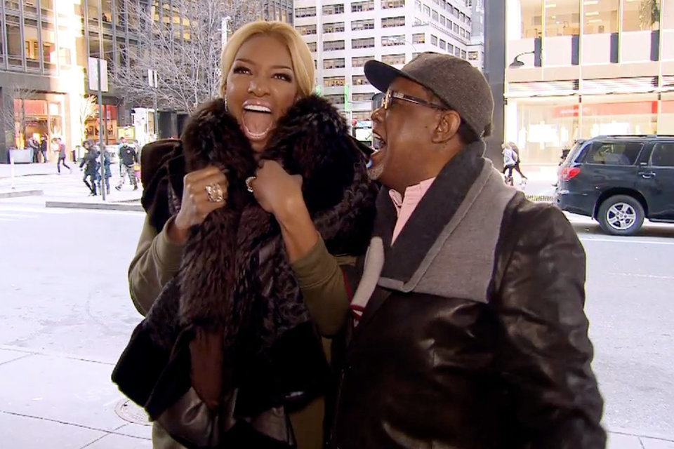nene leakes sees her name on broadway real housewives of atlanta 2015