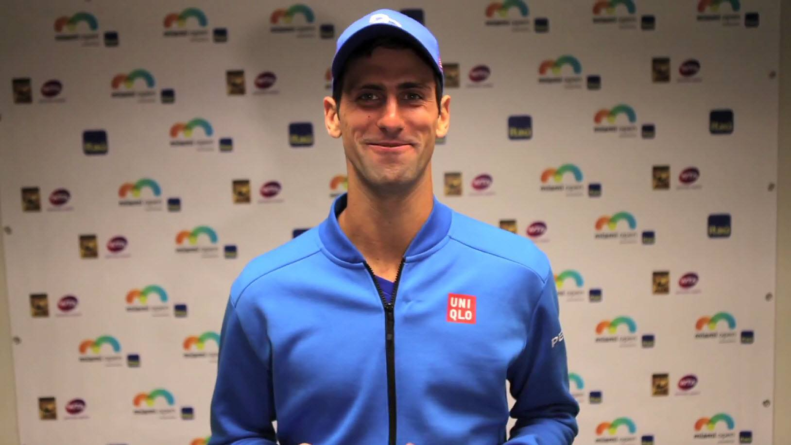 novak djokovic answers fans weird questions 2015 images