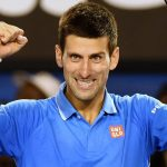 novak djokovic beat john isner for miami open 2015 finals images