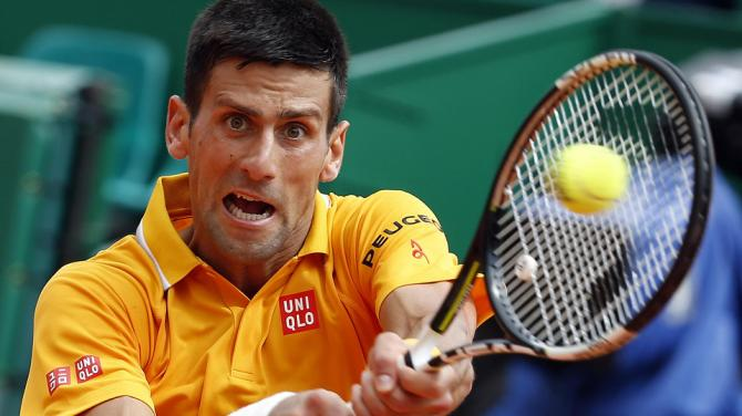 novak djokovic beats cilic for semi finals monte carlo masters 2015