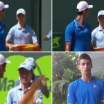 novak djokovic outburst on ball boy 2015