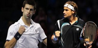 novak djokovic takes on david ferrer in 2015 miami open masters
