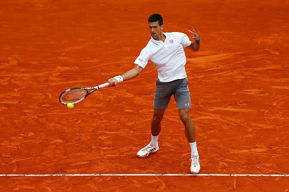 novak djokovic taking on tomas berdych 2015 monte carlo masters