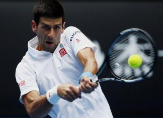 novak djokovic vs john isner in 2015 miami open master semi finals