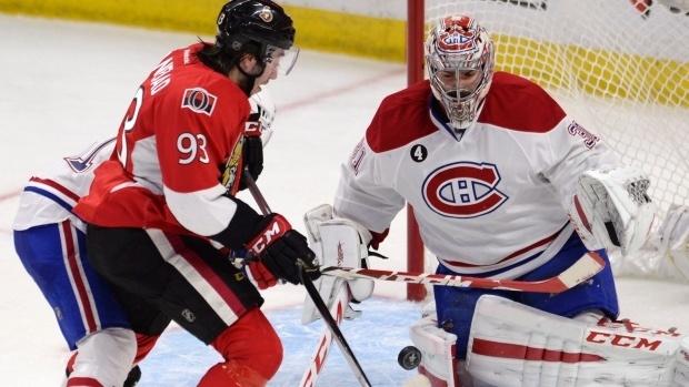 ottawa senators vs montreal canadians stanley cup playoffs