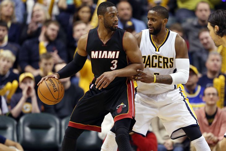 paul george indiana pacers return to take out miami heat 2015