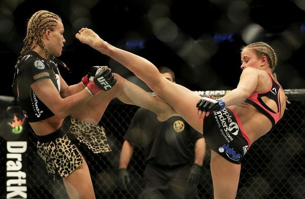 paige van zant vs flice herrig ufc fight night 2015