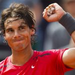 rafael nadal arm up for french open 2015