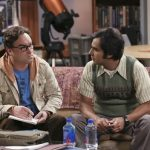 raj leonard work on message for big bang theory ep 821