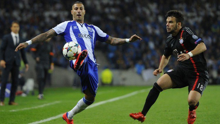 ricardo quaresma balls up for porto champions league 2015