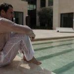 roger federer bulge wet pants for 2015 miami open masters