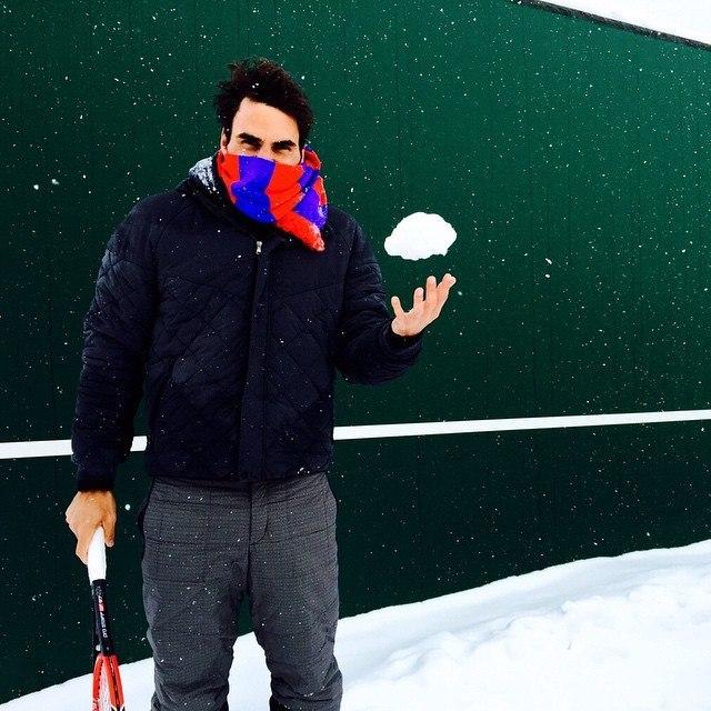 roger federer skilled miami open 2015 enjoying snow in france 2015