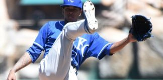 royals yordano ventura tops out for american league mlb 2015