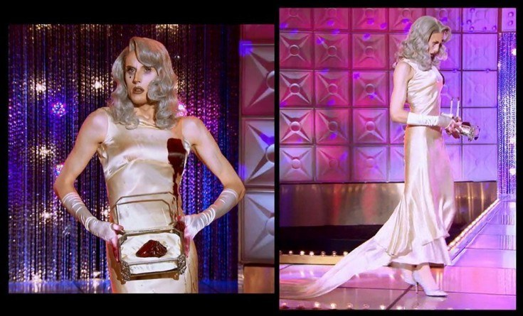 rupauls drag race max death becomes her runway 2015 ep 6