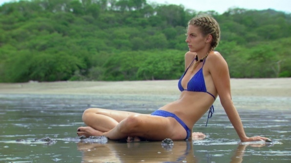 sierra dawn odd woman out bikini shots survivor worlds apart 2015