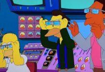 simpsons working google glass 2015