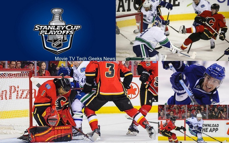 stanley cup playoffs 2015 canucks vs calgary images nhl