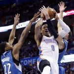 thunder beats timberwolves nba playoffs 2015