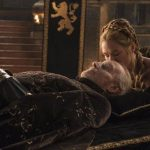 tywin dead with cersin game of thrones 2015