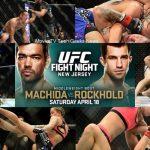 ufc fight night machida vs rockhold images 2015