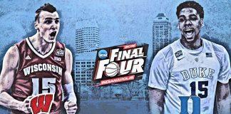 wisconsin badgers vs duke final four ncaa 2015