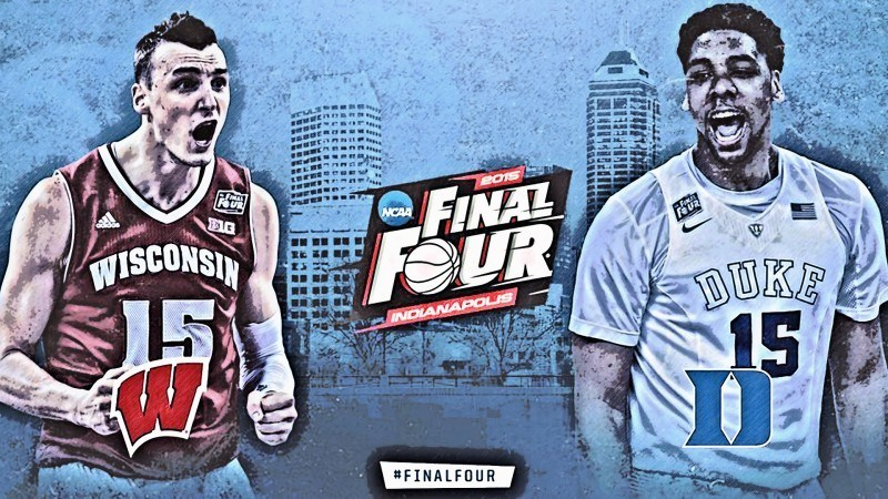 wisconsin badgers vs duke final four ncaa 2015