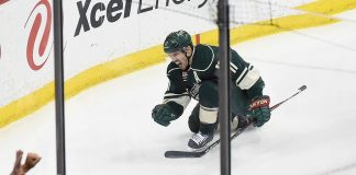 zack parise leads goals for minnesota wild stanley cup playoffs 2015