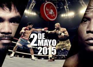 Manny Pacquiao vs Floyd Mayweather fight of the 21st century 2015 images