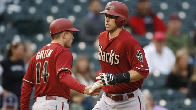 Paul Goldschmidt hot top man for diamondbacks national league mlb 2015