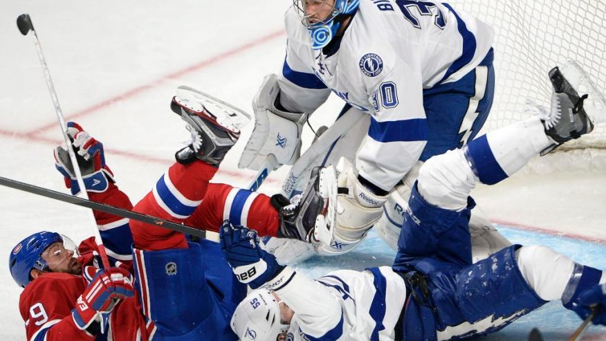 pieree alexandre parenteau scores for canadiens 2015 stanley cup playoffs