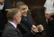 AaronHernandez indicted for shooting alexander bradley silencing witness