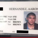 aaron hernandez jail id auctioned 2015