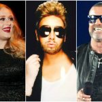 adele does george michael for birthday 2015adele does george michael for birthday 2015