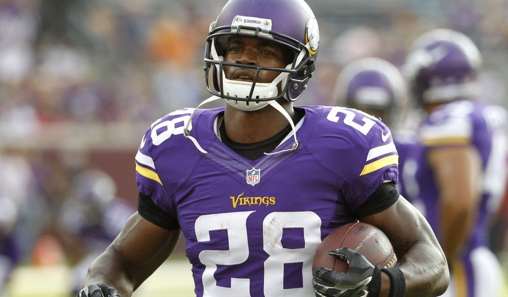 adrian peterson skipping out on vikings 2015