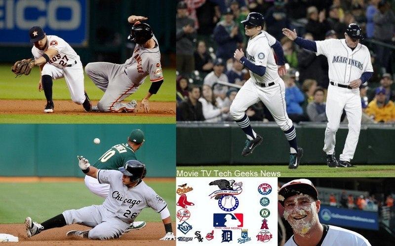 american league week 6 astros brad miller images 2015