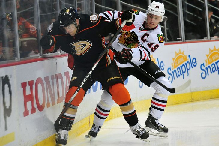 anaheim ducks douse calgary flame stanley cup playoffs blackhawks 2015