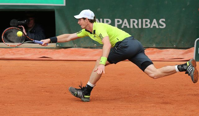 andy murray at 2015 french open
