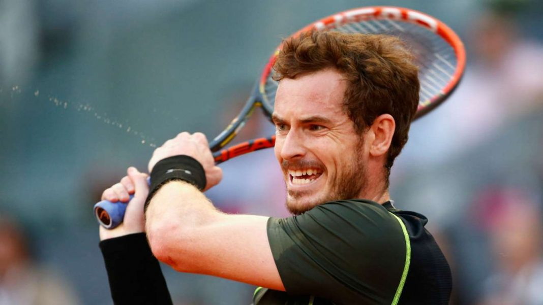 andy murray beats jeremy chardy 2015 rome masters open