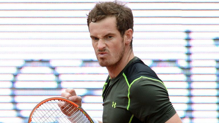 andy murray beats lukas rosol after heated encounter 2015 munic open